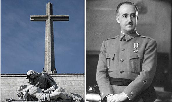 FRANCO − scos din Mausoleu de socialiştii faliţi
