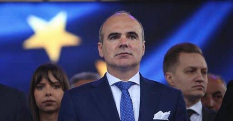 Domniei Sale Domnului Rareș BOGDAN,Lider al Partidului Național Liberal Membru al Parlamentului European
