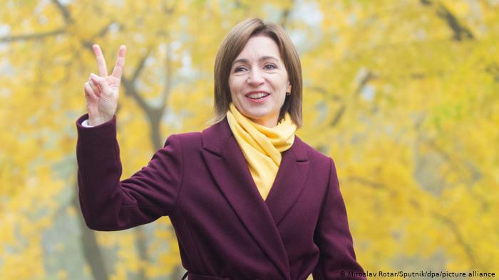 Scrisoare de felicitare și încurajare pentru  Doamna Președinte Maia SANDU